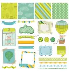 Design Elements - Baby Bear vector image vector image