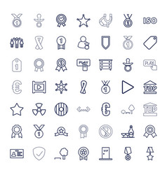 49 badge icons vector