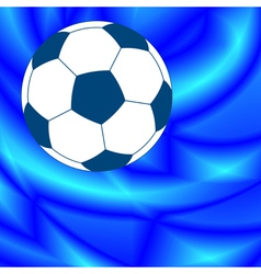 Ball on abstract background vector image