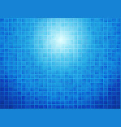 blue checkered tiled background vector image