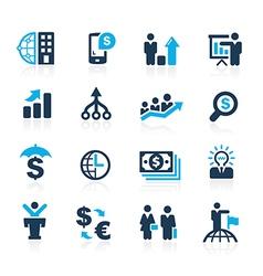 Business Financial Azure vector