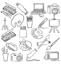 Doodle art vector