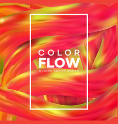 futuristic abstract background colorful wavy vector image