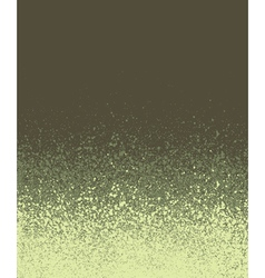 Graffiti spray painted olive green gradient vector