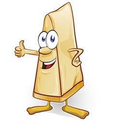 italian cheese cartoon vector image