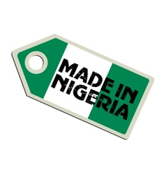Made in Niger vector