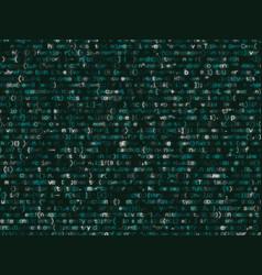 program code shimmering colorful bakcground vector image
