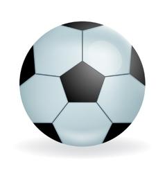 Realistic Fooltball ball icon sport symbol vector image
