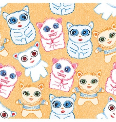 Cool cute creatures vector image