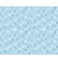Abstract sea waves with highlights and contours vector image