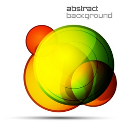 abstract orb vector image vector image