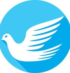 Dove Icon vector image vector image