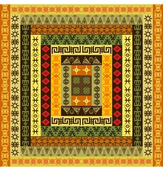 ethnic colored texture vector image vector image