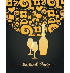 Party invitation vector image vector image