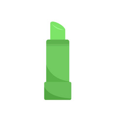 Aloe pomade icon flat style vector