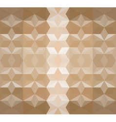 Brown Seamless Triangle Abstract Background vector image