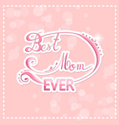 Happy mothers day design elements vector