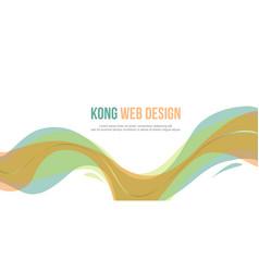 Header website abstract design elegant style vector