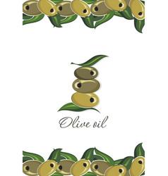 olive symbol vector image