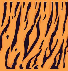 tiger fur pattern background vector image