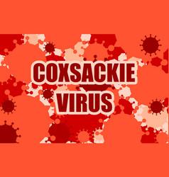 Virus disease relative background vector