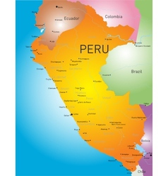 Peru country vector image vector image