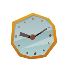 Clock face watch vector image vector image