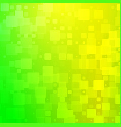 Yellow golden green shades glowing rounded tiles vector