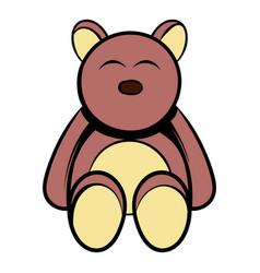 babear icon cartoon vector image
