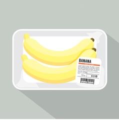 Banana Pack vector image