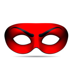 Devil carnival mask vector