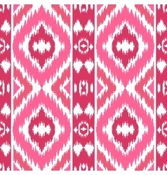 Ethnic pink seamless pattern vector
