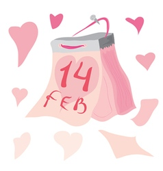 Kalendar otrivnoi love edition vector