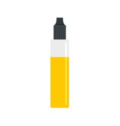 nicotine liquid icon flat style vector image