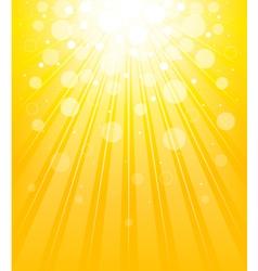 Shining background vector image