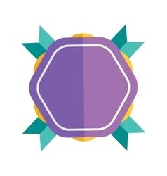 Modern flat design badge icon vector