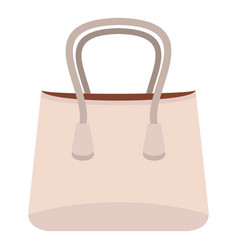 small woman bag icon isolated vector image vector image