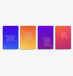 2020 cominimal covers design quote frames blank vector