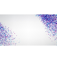 Background with purple drops vector image
