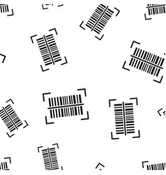 Barcode product distribution icon seamless vector