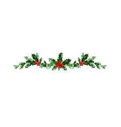 christmas decor celebration vector image