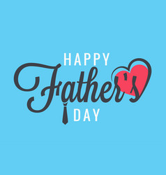 Fathers day banner family party vector