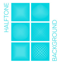 halftone background collection vector image