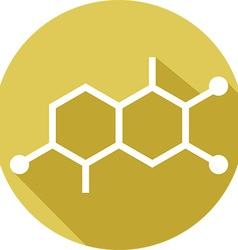 Molecular Structures Icon vector