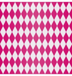 Seamless geometric pattern with rhombuses vector