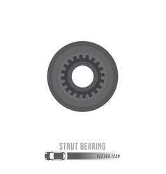 Spare parts icon vector
