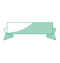 isolated cute banner vector image