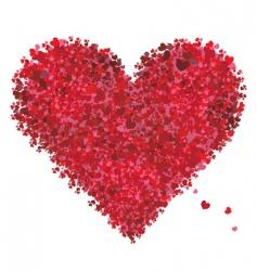 valentine heart shape love vector image vector image