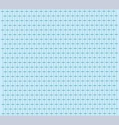 Blue retro pattern vector image vector image