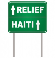 relief sign vector image vector image